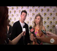 视频: Chris Evans Scarlett Johansson Comic Con 2013 Interview
