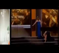 ▶ Emmy Awards 2013  Watch VIDEO Tina Fey and Amy Adams Trips and Fall On Stage Emmy Awards Show 2013
