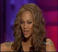 - Hilary Duff in Tyra Banks Show