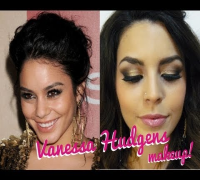♥ Smokey de Vanessa Hudgens tutorial en Negro Y Dorado ♥ smokey eyes black and gold  ♥