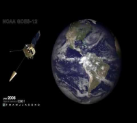 10 Years of Weather History in 3 Minutes