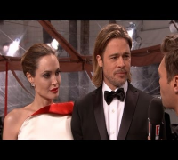 2012 Golden Globes: Brad Pitt and Angelina Jolie