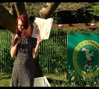 "2012 White House Easter Egg Roll: Julianne Moore Reads ""Freckleface Strawberry"""