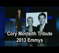 2013 Emmy Awards - Jane Lynch Tribute for Cory Monteith | Glee [HD]