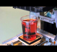 3d printer that prints figures in jello shots