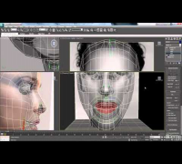 3ds Max Tutorial - Part 18 - Human Character Head Modelling of Natalie Portman