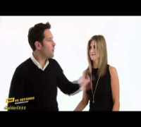 60 Seconds with Jennifer Aniston & Paul Rudd