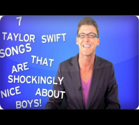 7 Taylor Swift Songs That Are Shockingly Nice About Boys - ISHlist 26