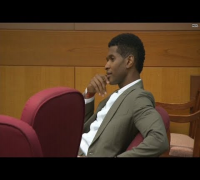 911 call evokes tears at Usher hearing