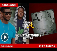 911 Call - Usher & Tameka Raymond's Son 'Cinco' Pool Accident (8/5/13)