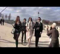 A day with Lindsay Lohan in Paris.