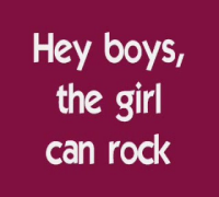 A Girl Can Rock by Hilary Duff with lyrics