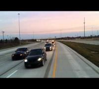 A Paul Walker Le hicieron un tributo en carro estilo fast & furious