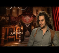 Aaron Taylor-Johnson Says Keira Knightley is Fantastic in Anna Karenina