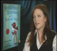 About Being a Redhead With Freckles With Julianne Moore Author of Freckleface Strawberry