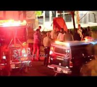 Actor Paul Walker's accident and death scene in Santa Clarita, CA.