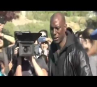 Actor Tyrese Gibson LLORA en Lugar Choque de PAUL WALKER - Cadaver de Paul Walker?