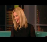 Actress Charlize Theron On The View 2012