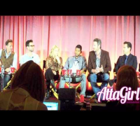 "Adam Levine, Usher, Shakira & Blake talk ""The Voice"" at NBC Summer Press Day 2013 Part 1"