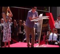 Adam Sandler hilarious speech at Jennifer Aniston Hollywood walk of fame ceremony