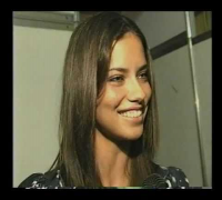 Adriana Lima, 15 10 2002, entrevista com Francisco Chagas no Over Fashion
