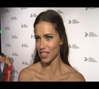 Adriana Lima and Candice Swanepoel Interviews at Charity Event in NYC!