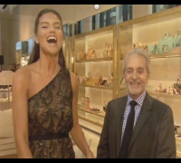 Adriana Lima and Vince Camuto Talk Shoes