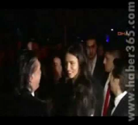 Adriana Lima arriving in Dosso Dossi Fashion Show Party in Antalya