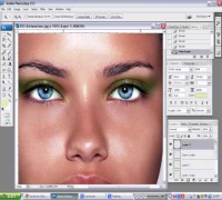 Adriana Lima - Carioca Make Up Photoshop