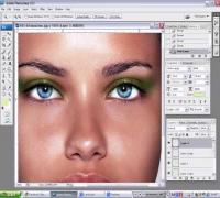 Adriana Lima - Carioca Make Up Photoshop