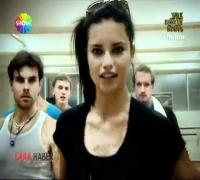 Adriana Lima Dancing on ''Yok Böyle Dans'' Turkey/Istanbul