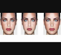 Adriana Lima Facial Symmetry