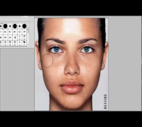 Adriana Lima- Make up Transformation