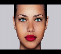 Adriana Lima Photoshop makeup