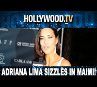 Adriana Lima sizzles in Miami - Hollywood.TV