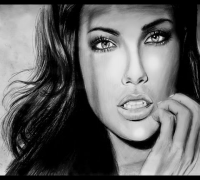 Adriana Lima Speed Drawing