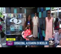Alessandra Ambrosio brilló como un ángel en pasarela de Colombiamoda - 24 de julio de 2013
