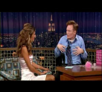 "Alessandra Ambrosio on ""Late Night with Conan O'Brien"""