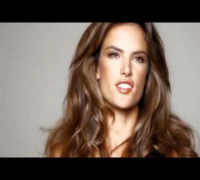 Alessandra Ambrosio Victoria's Secret (HAIR BY ORIBE)