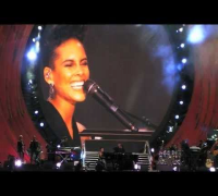 Alicia Keys - Empire State Of Mind @ Global Citizen Festival 2013