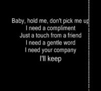 Alicia Keys- One Thing (Lyrics on Screen)
