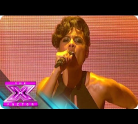 "Alicia Keys Performs ""Girl on Fire"" - THE X FACTOR USA 2012"