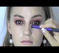 Allie Crandell -  Keira Knightley -  Olsen twin inspired makeup tutorial