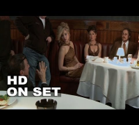 American Hustle: Behind the Scenes (Complete Broll) Christian Bale, Jennifer Lawrence