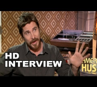 "American Hustle: Christian Bale ""Irving Rosenfeld"" Official Movie Interview"