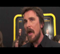 American Hustle: Christian Bale World Premiere Interview