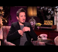 American Hustle Exclusive Interview with Jeremy Renner, Christian Bale, Bradley Cooper Dec 2013