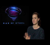 Amy Adams Interview -- Man Of Steel