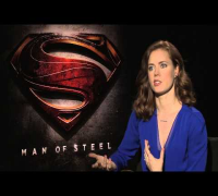 Amy Adams talks about playing Lois Lane in Man Of Steel