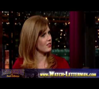 Amy Adams, Zachary Levi, Vampire Weekend - David Letterman PART 2 // Jan 5 2010